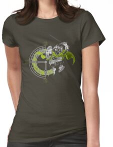 Chrono Frogo Womens Fitted T-Shirt