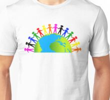 Kids/People United On Earth Unisex T-Shirt
