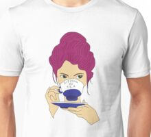 Sipping the Tea Unisex T-Shirt