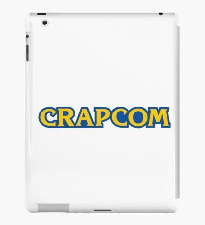 CRAPCOM (CAPCOM Parody) iPad Case/Skin