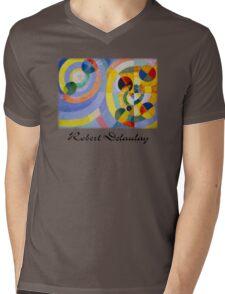 Delaunay - Circular Forms Mens V-Neck T-Shirt