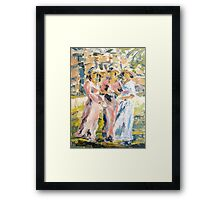 Garden Party Framed Print