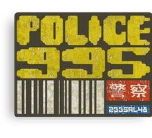 Blade Runner Police 955 Canvas Print