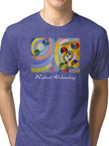 Delaunay - Circular Forms Tri-blend T-Shirt