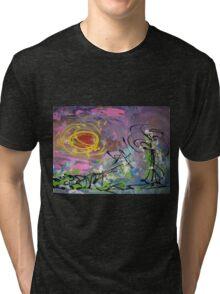 Simple Landscape by Darryl Kravitz Tri-blend T-Shirt