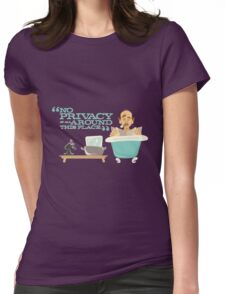 Carousel of Progress - Orville - No Privacy Womens Fitted T-Shirt