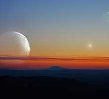 Double Moon Dusk by Daniel Owens