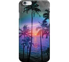 Dream of Paradise (Palm Tree Paradise) iPhone Case/Skin