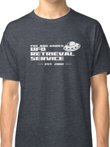 Fox and Dana's UFO Retrieval Service Classic T-Shirt