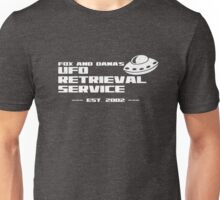 Fox and Dana's UFO Retrieval Service Unisex T-Shirt