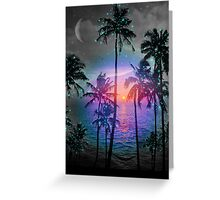 Dream of Paradise (Palm Tree Paradise) Greeting Card