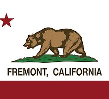Fremont California Republic Flag by NorCal