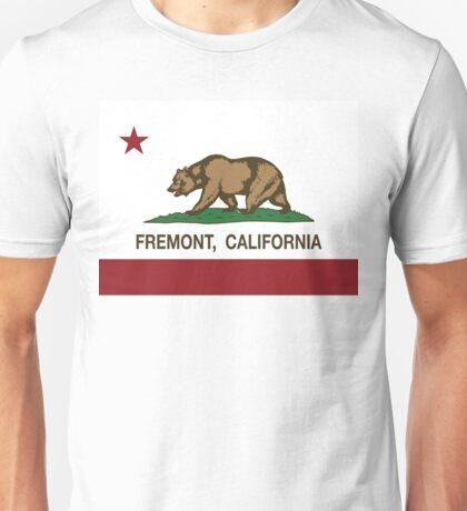 Fremont California Republic Flag Unisex T-Shirt