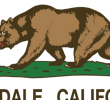 Glendale California Republic Flag Sticker