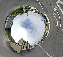 Glencolmcille - Biddy's Crossroads Pub(Sky-in) by George Row