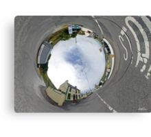 Glencolmcille - Biddy's Crossroads Pub(Sky-in) Canvas Print