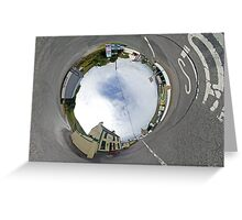 Glencolmcille - Biddy's Crossroads Pub(Sky-in) Greeting Card
