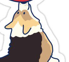 Corgi Impressions  Sticker