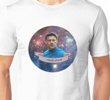 I Hate Space - Leonard McCoy Unisex T-Shirt