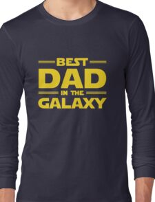Star Wars - Best Dad in The Galaxy Long Sleeve T-Shirt