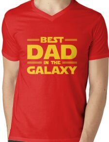 Star Wars - Best Dad in The Galaxy Mens V-Neck T-Shirt