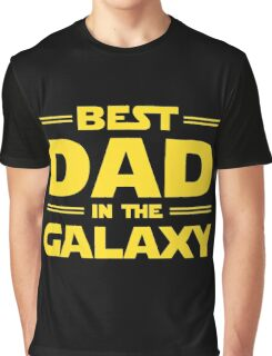 Star Wars - Best Dad in The Galaxy Graphic T-Shirt