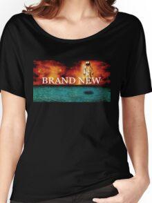 Brand New textured album art logo Women's Relaxed Fit T-Shirt