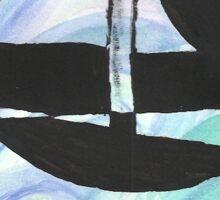 Small Sailboat Sticker