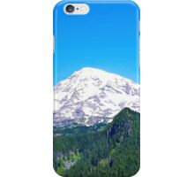 Mt. Rainier Panorama iPhone Case/Skin