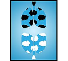 TFIOS Lungs Photographic Print