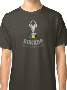 """Bokkop"" South African Infantry Shirt Classic T-Shirt"