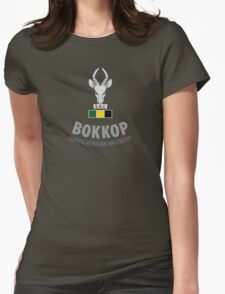 """Bokkop"" South African Infantry Shirt Womens Fitted T-Shirt"