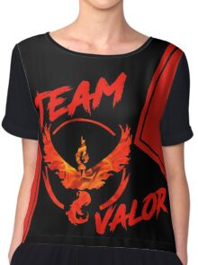 Team Valor - Pokemon Go Chiffon Top