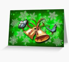 bells and butterflies Greeting Card