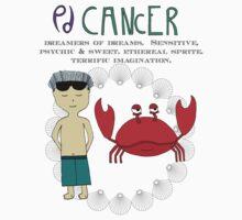 Children's Zodiac - Cancer Boy Kids Tee
