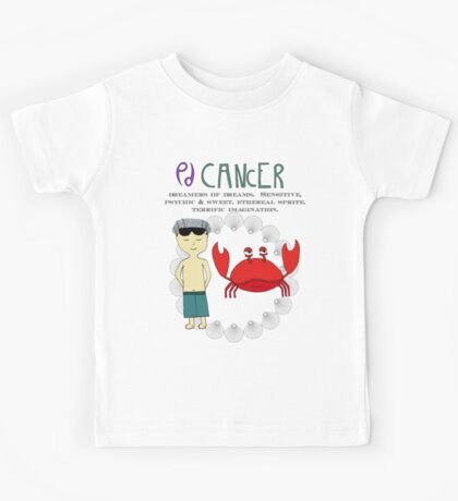 Children's Zodiac - Cancer Boy Kids Tee