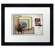 MERRY XMAS Framed Print