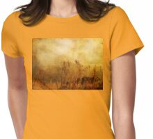 Beach Grasses of Gold... Womens Fitted T-Shirt
