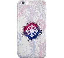 Bisexual Pride Wheel of Dharma iPhone Case/Skin