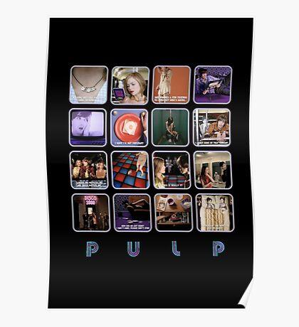 Pulp - Disco 2000 Poster