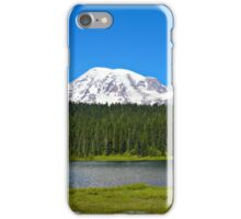 Mt. Rainier/Reflection Lakes iPhone Case/Skin