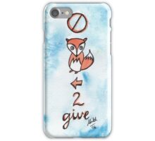 No F*x Left To Give iPhone Case/Skin