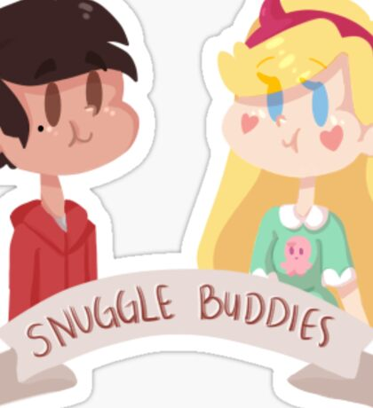 Snuggle Buddies Sticker