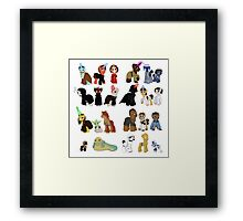 Star Wars Ponies Framed Print