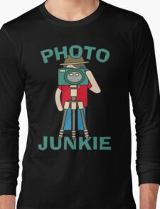 Photo Junkie design Long Sleeve T-Shirt