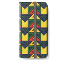 Abstract Mexican Wrestler Mask iPhone Wallet/Case/Skin