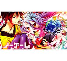 NO GAME NO LIFE Photographic Print