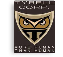 Blade Runner Tyrell Corp logo Canvas Print