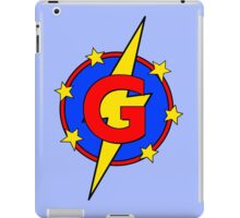 My Cute Little Super Hero - Letter G iPad Case/Skin