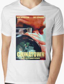 CHINATOWN 7 Mens V-Neck T-Shirt